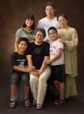 家族写真,記念撮影
